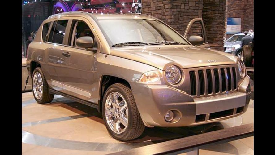 Jeep Compass: Kompakter SUV soll im Herbst 2006 starten