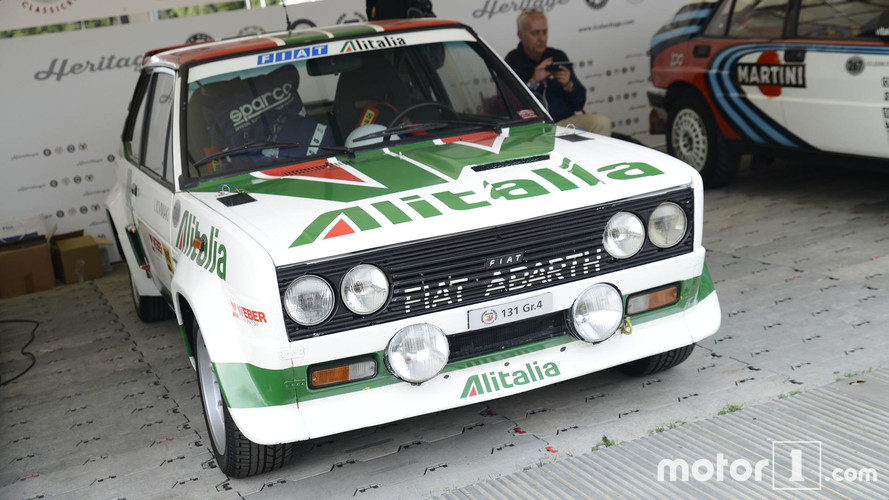 Abarth 131 Rally Car Goodwood