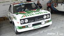Fiat Abarth 131 de rallies en Goodwood