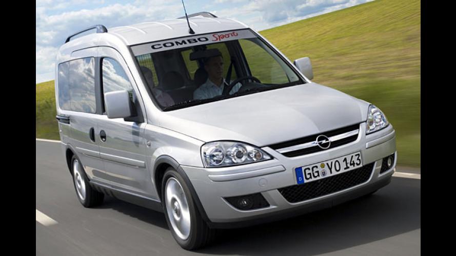 Sport für die ganze Combo: Opel legt Sonder-Variante auf