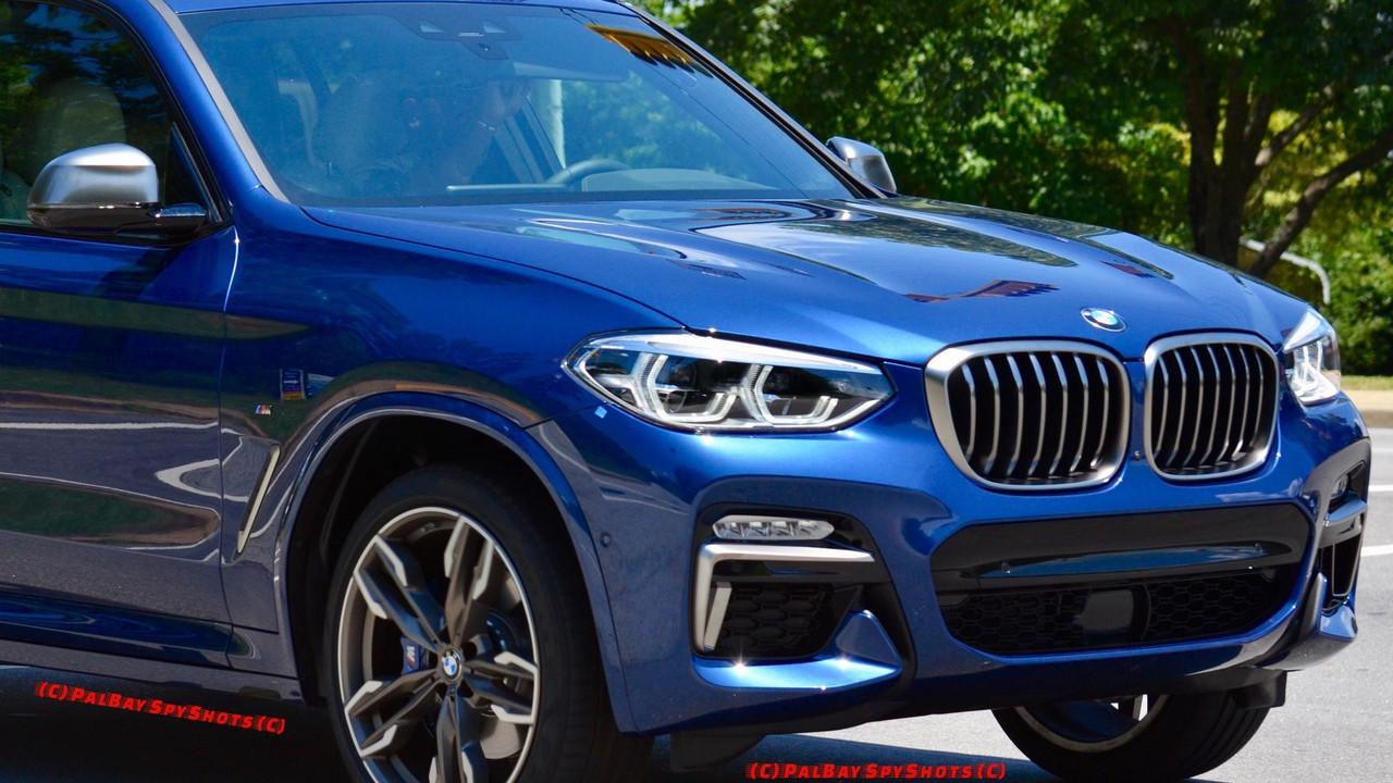 2018 BMW X3 M40i yolda