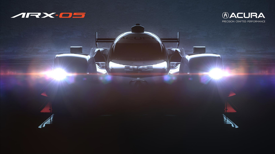 Acura ARX-05 Race Car Teased With Bizarre Front End Design
