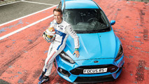 Ford Focus RS and Harry Tincknell