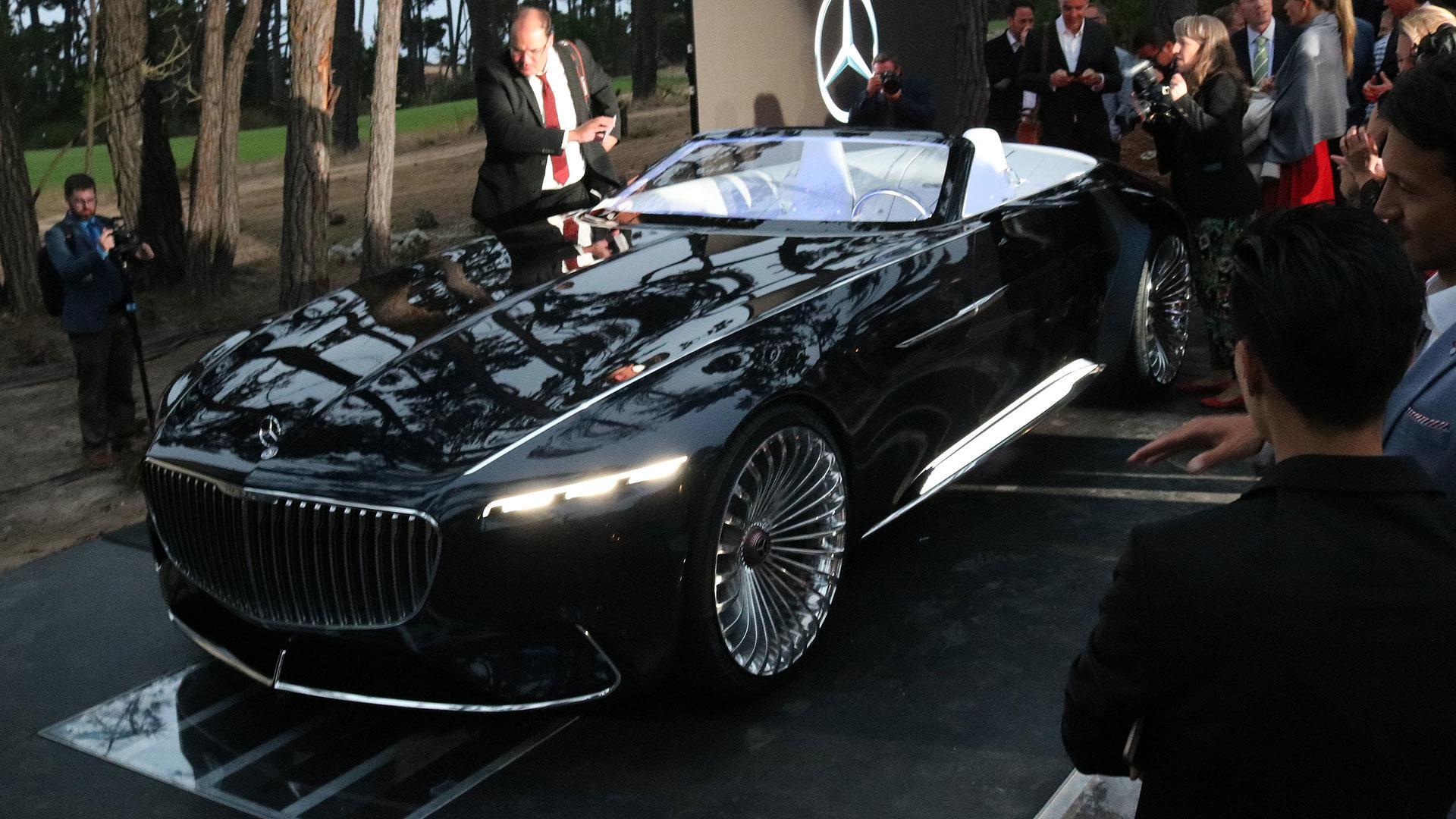 vision mercedes-maybach 6 cabriolet tanıtıldı
