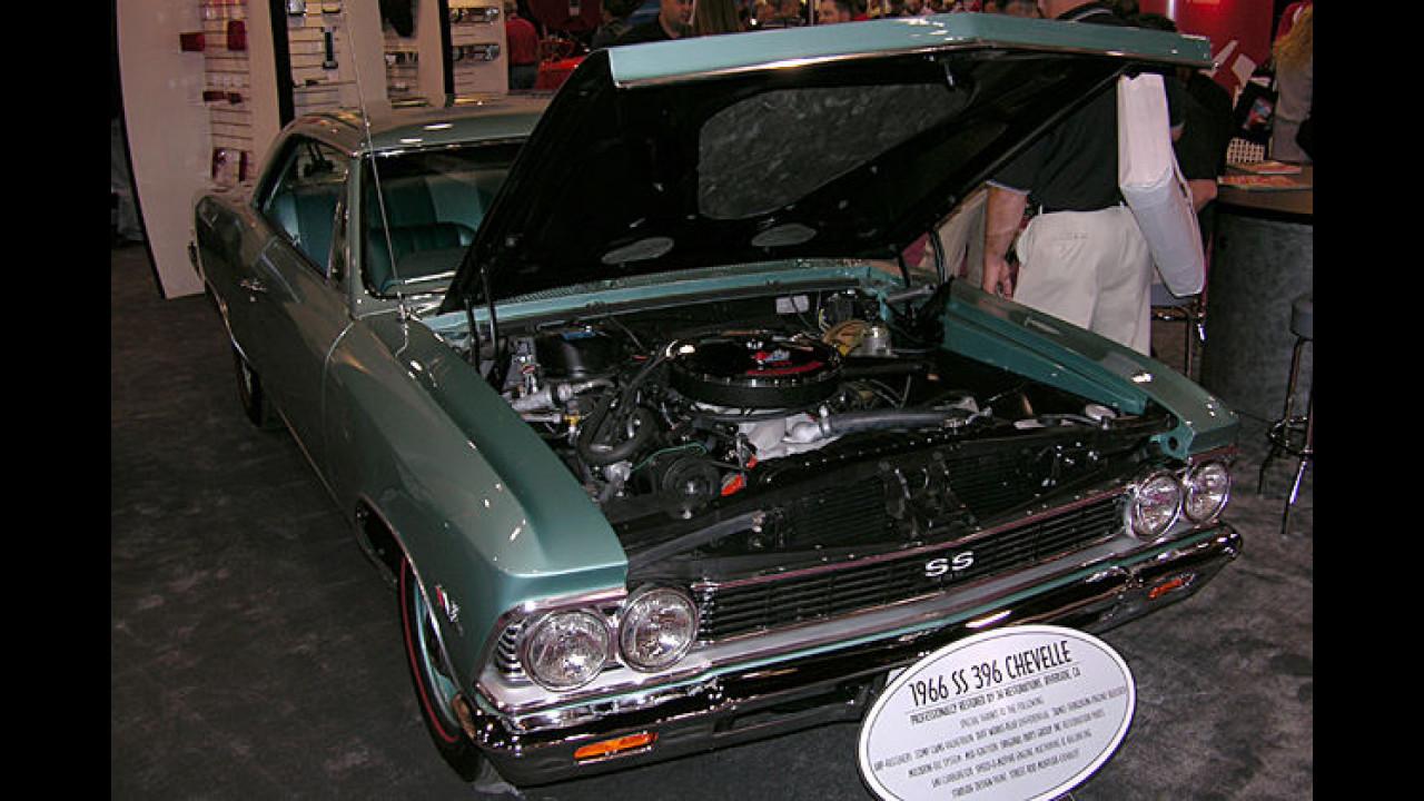 Außen Biedermann, innen Brandstifter: eine Chevrolet Chevelle SS 396 von 1966