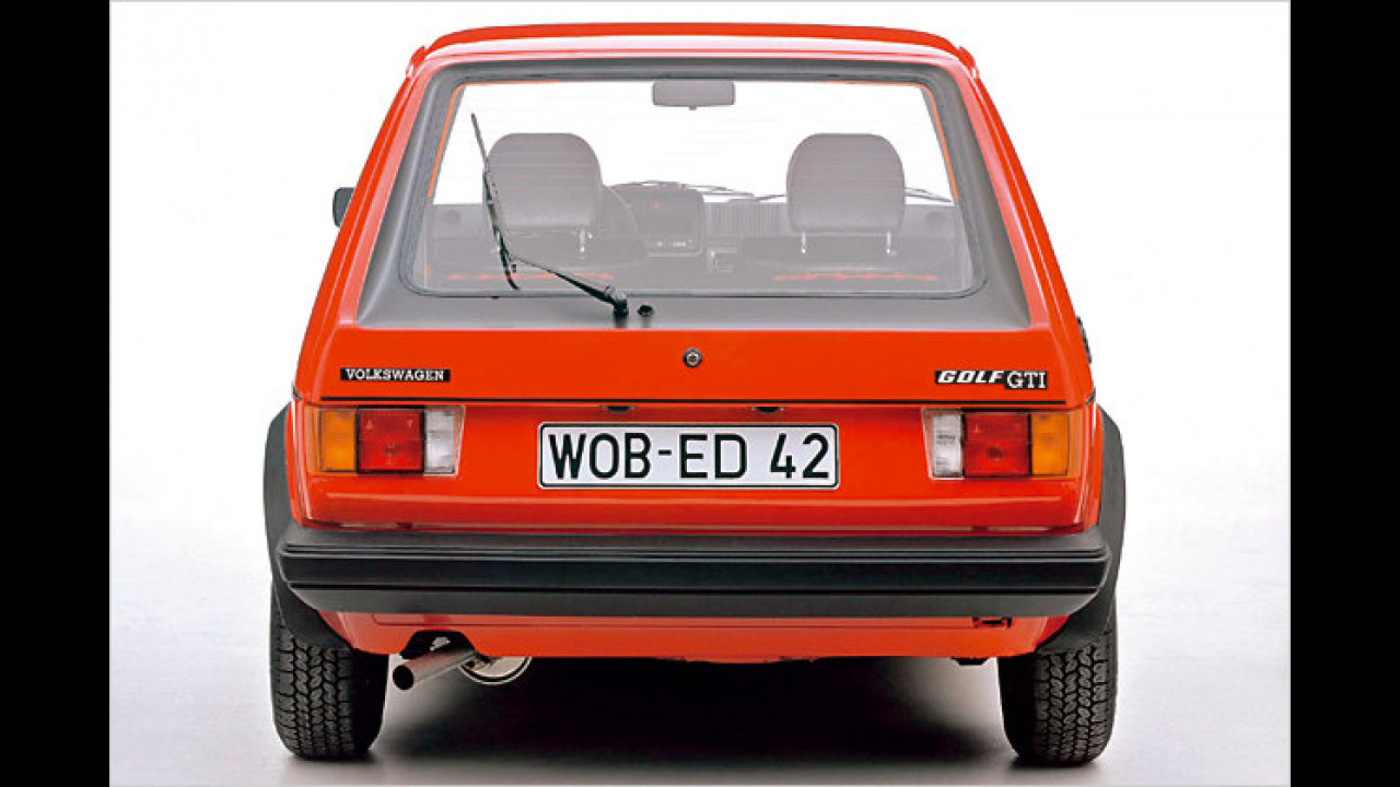 VW Golf I GTI, Bauzeit: 1976 bis 1983