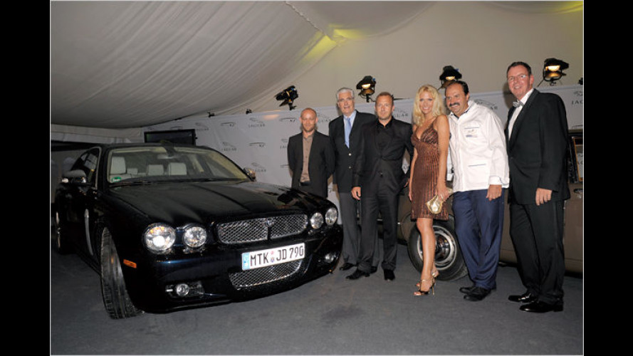 Promi-Party in der Eifel: Jaguar feiert 40 Jahre XJ