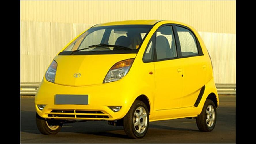 Tata Nano: Neues Minimal-Auto soll Indien motorisieren