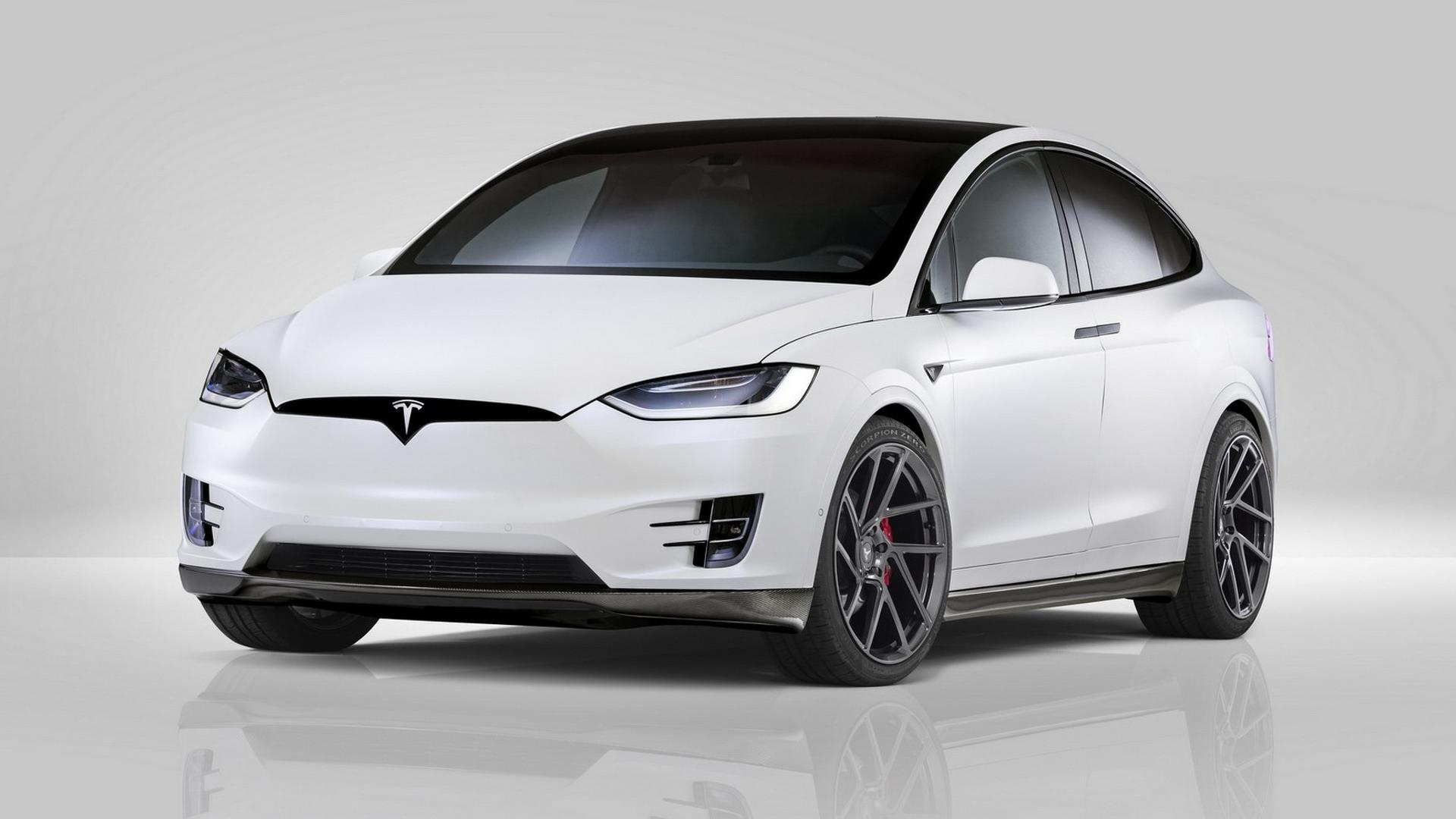 Tesla Model X Tweaked By Novitec Proves Less Is More