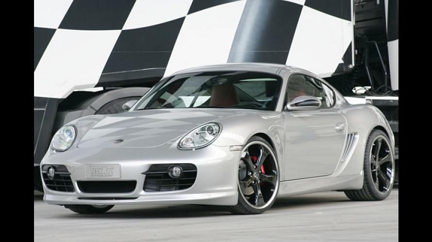TechArt kleidet den Porsche Cayman S in sportlichen Dress