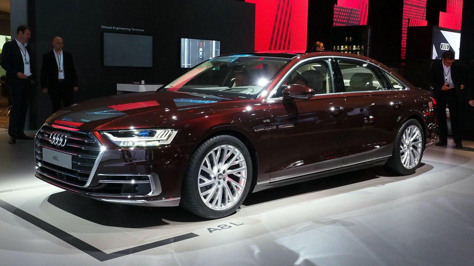 Audi A Has Lasers Foot Massagers And A Big Price Tag - 2018 audi a8 for sale