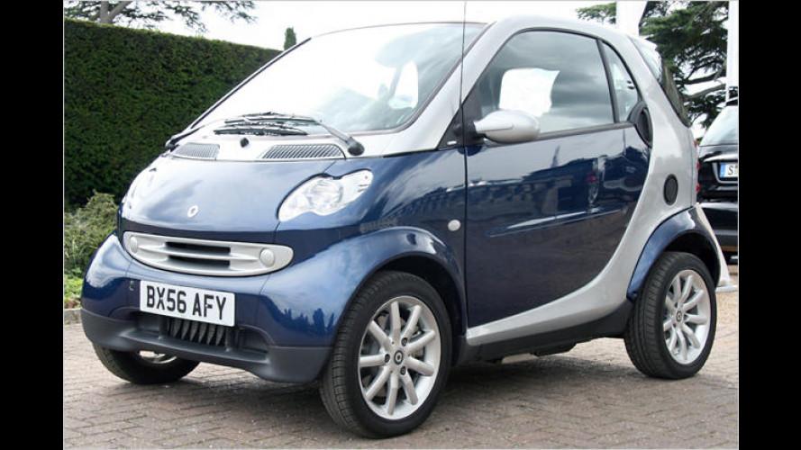 Das Elektromobil Smart Fortwo ed im Test