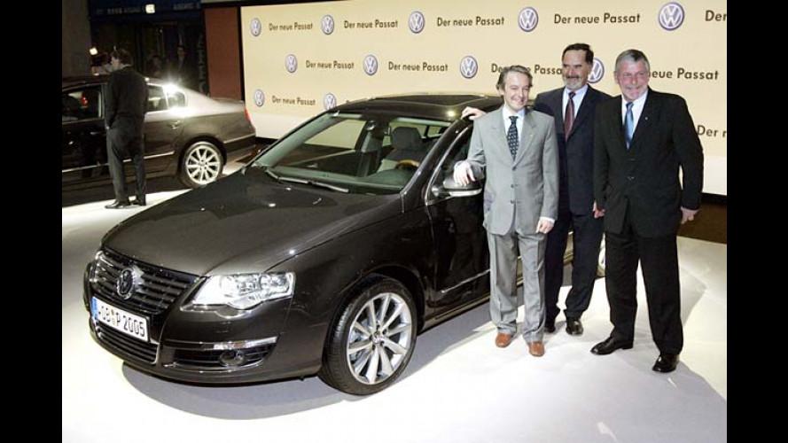 So präsentierte Volkswagen den neuen Passat
