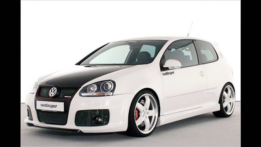 Potenter Jubilar: Oettinger-Version des Golf GTI Edition 30