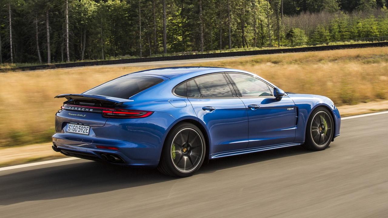 2018 Porsche Panamera Turbo S E Hybrid Review The Future Is