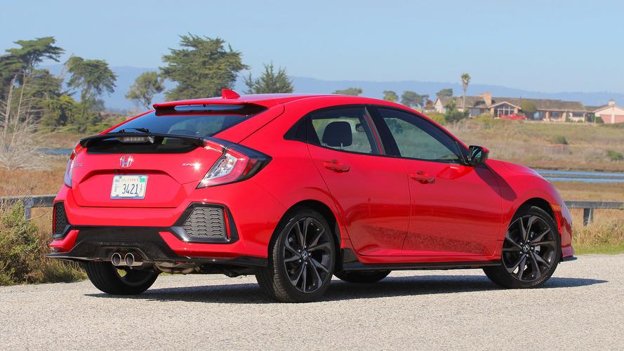 Honda Civic Hatchback'e Sport+ donanımı geldi