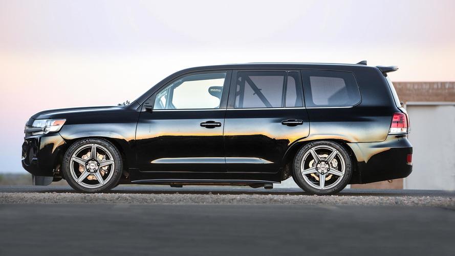 Toyota Twin Turbo Land Speed Cruiser