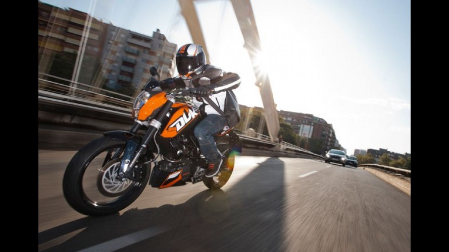 Dafra-KTM inicia vendas dos modelos 200 Duke e 390 Duke ABS no Brasil