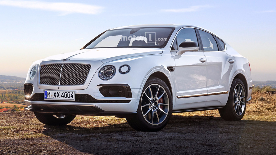 Bentley Bentayga Junior render