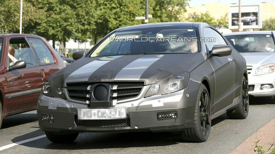 Best Shots yet of New Mercedes CLK Replacement/E Class Coupe Caught