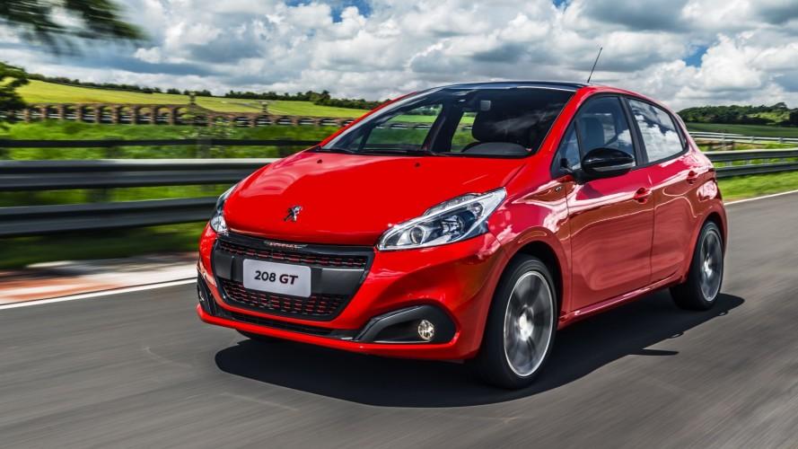Hatches compactos mais vendidos - Peugeot 208 é único a crescer em janeiro