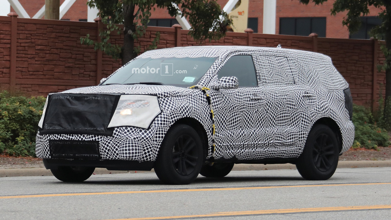 2019 Ford Explorer Spy Shots - 1711081