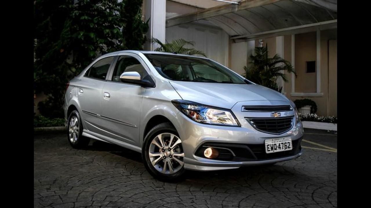 Recall: GM convoca 121 mil unidades de Prisma e Cobalt no Brasil