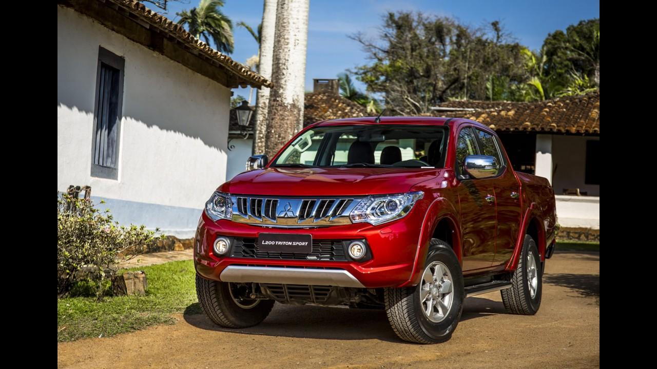 Mitsubishi lança nova geração da L200 no Brasil como Triton Sport - veja preços
