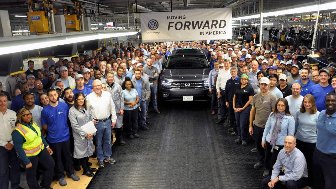 Volkswagen Atlas fabrica