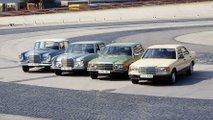 Mercedes S-Klasse: 70 Jahre fortschrittliche Technik im Überblick