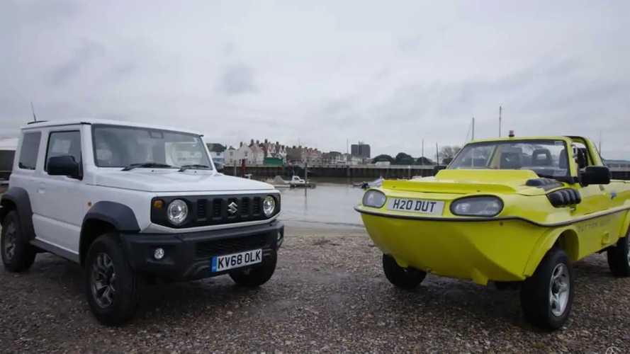 Amphibious Suzuki Jimny