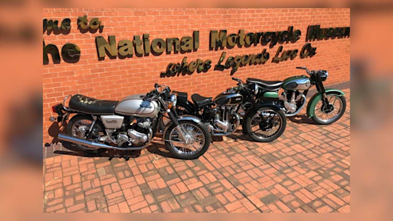 National Motorcycle Museum Covid Raffle
