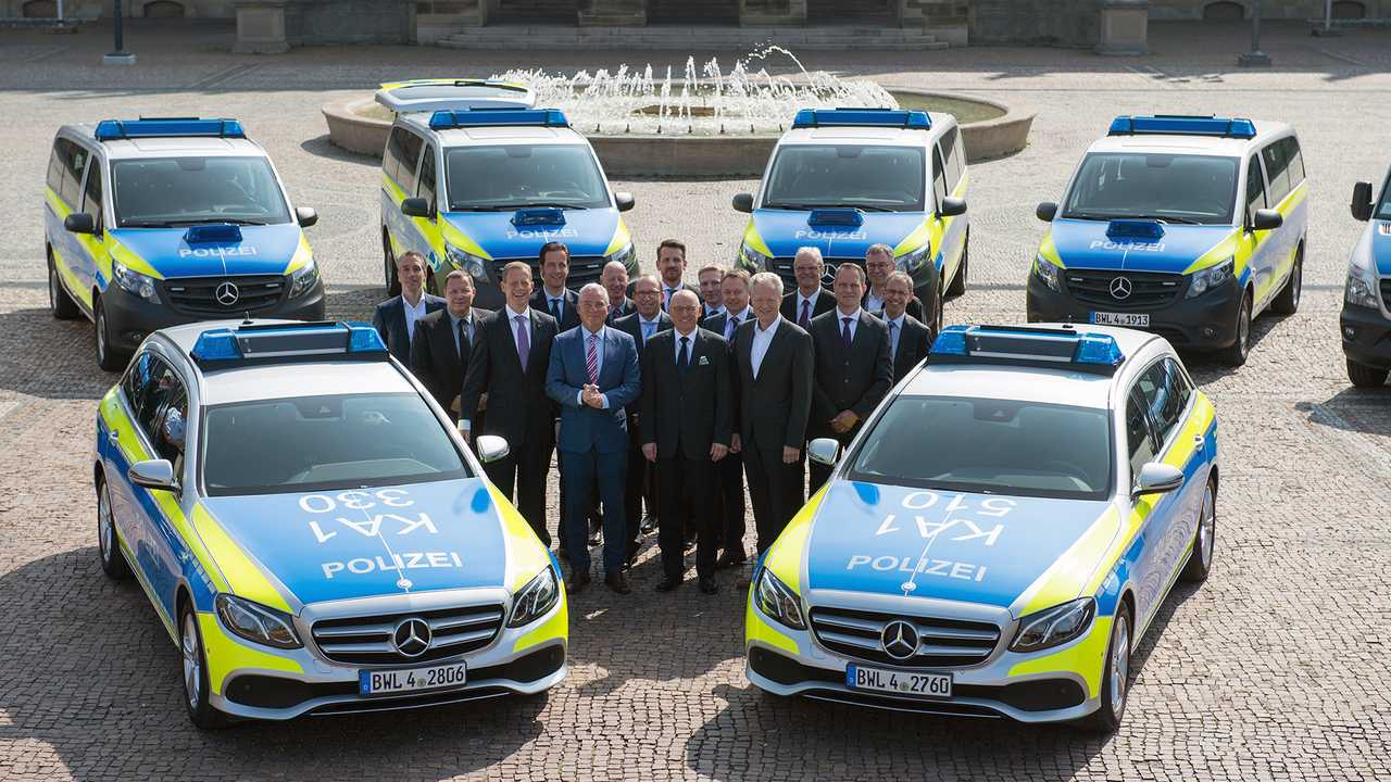 Polizeiautos in Deutschland: Mercedes E-Klasse