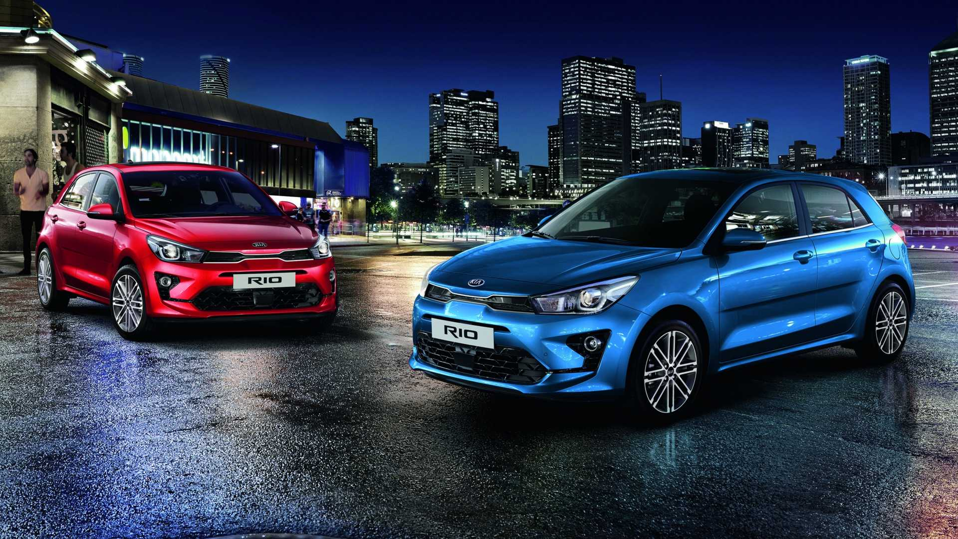 Kia Rio Facelift Debuts With Smart Face  Mild Hybrid Engine