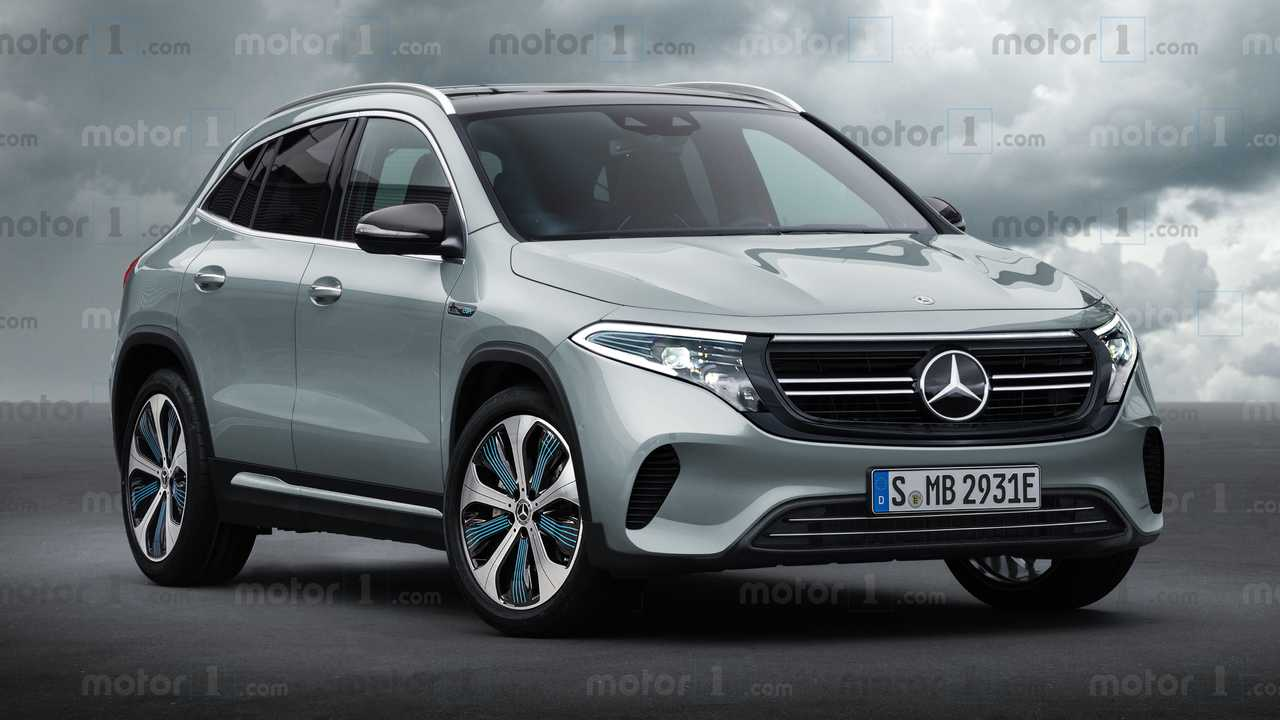 2020 Mercedes-Benz EQA render