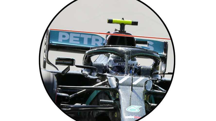 Formula 1, Mercedes: scoperta l'ala posteriore che flette sulla W11!