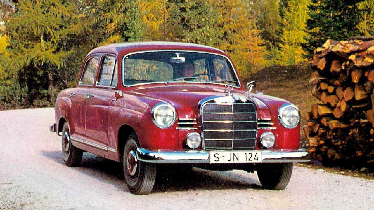 1953 bis 1962: Mercedes-Benz