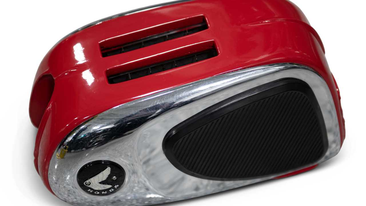 Honda Motorcycle Gas Tank Toaster