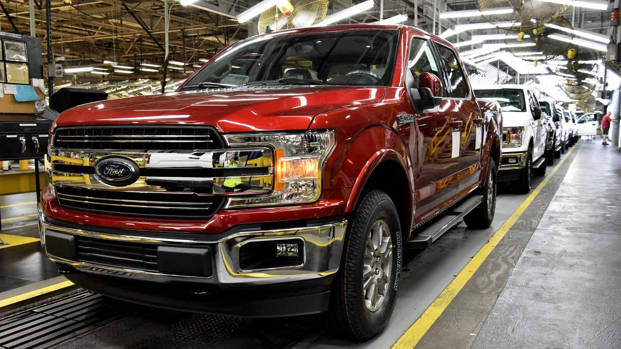 Ford F-150 at Kansas City Assembly Plant