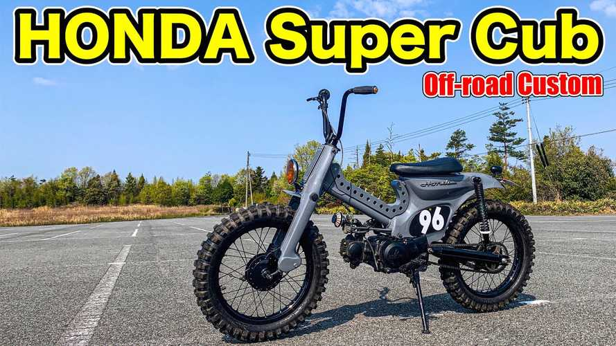 Custom Honda Super Cub Is Now A Super Awesome Dual Sport