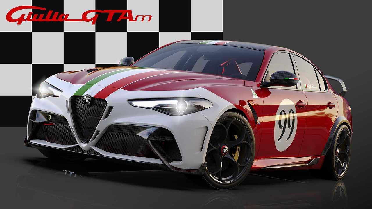 Rennsport-inspirierte Sonderlackierungen für Alfa Romeo Giulia GTA