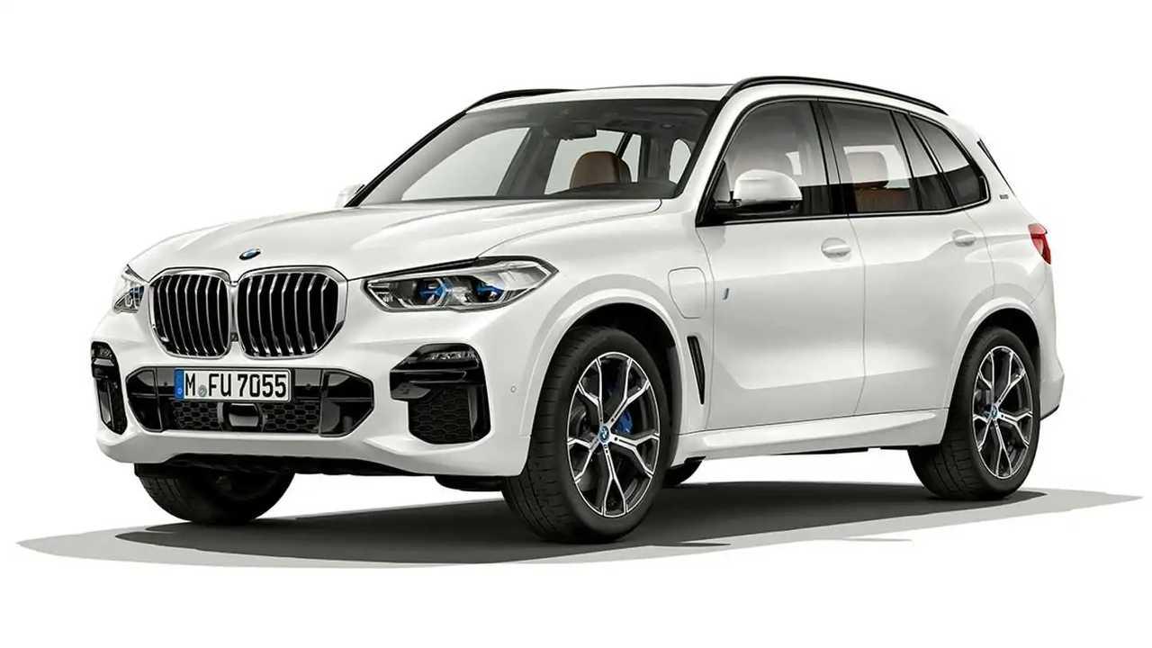 Электрический запас хода BMW X5 вырос почти втрое