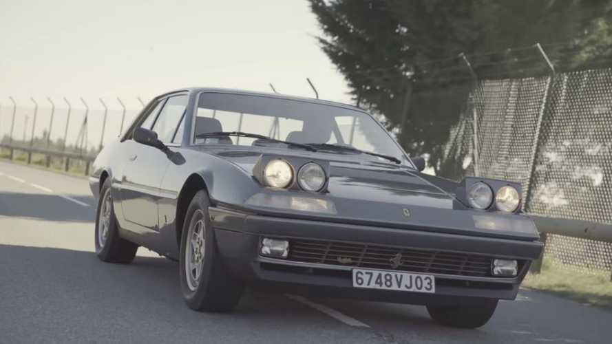 Watch: Why a 412 was two friends' dream Ferrari