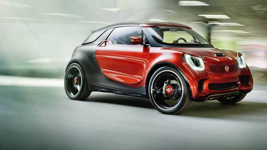 smart tendrá un SUV eléctrico para la ciudad