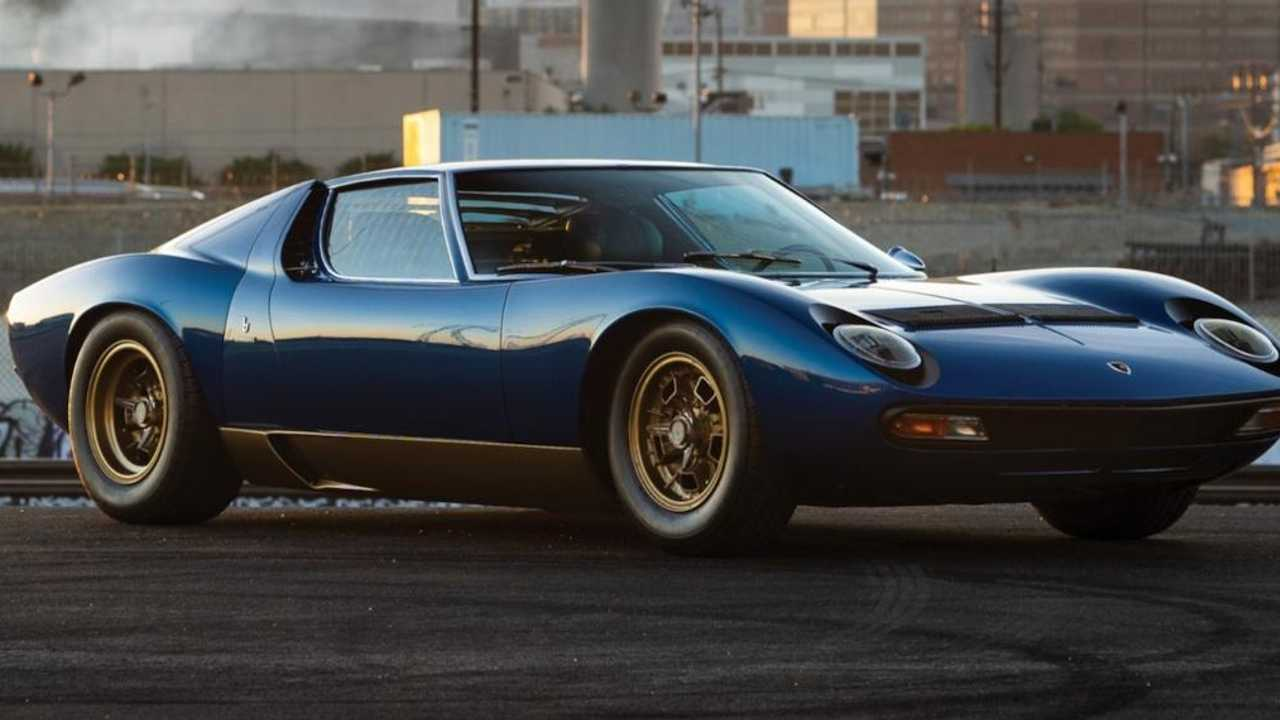 Is this the world's most beautiful Lamborghini Miura?