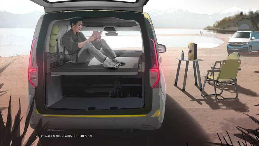 Volkswagen Caddy Beach (2020) Teaser