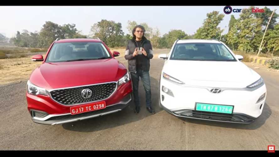 Hyundai Kona Electric Vs MG ZS EV: This Video Will Make You Scratch Your Head
