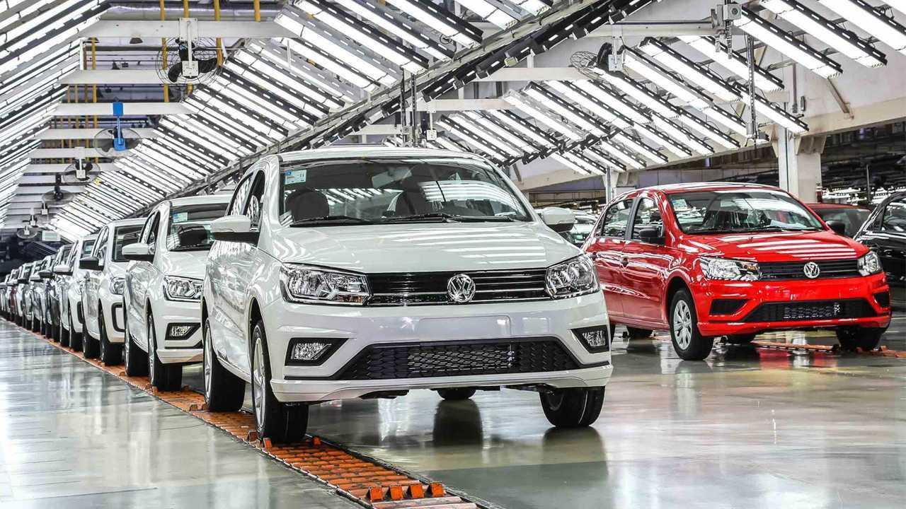 Volkswagen Gol na Fábrica de Taubaté