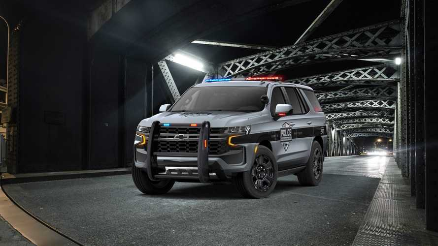 Chevrolet Tahoe Police Pursuit Vehicle 2021