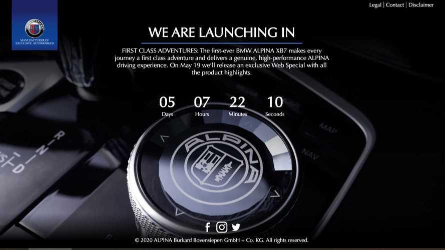 Alpina XB7 Countdown To Reveal Begins, Debuts May 19